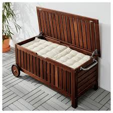 pplar storage bench outdoor ikea intended for outdoor cushion