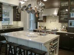 river kitchen island subway tile to match bianco romano granite kitchen island river