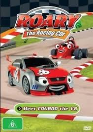 roary racing car meet conrod v8 dvd 2010