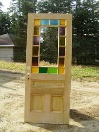 antique stained glass doors for sale fabulous antique eastlake door with stained glass border and