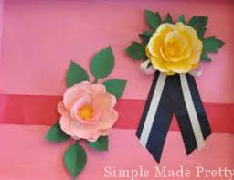 How To Make A Wrist Corsage Handmade Mother U0027s Day Paper Flower Corsage In 5 Easy Steps