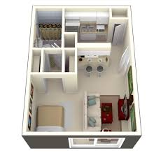 apartment creative studio apartment square footage room design