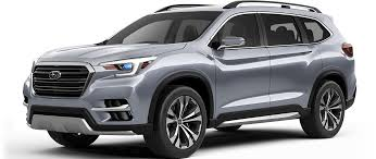 subaru concept cars subaru ascent suv concept 2017 new york international auto show
