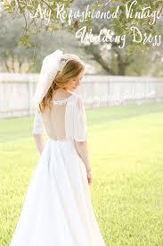 my best wedding dress studio my refashioned vintage wedding dress