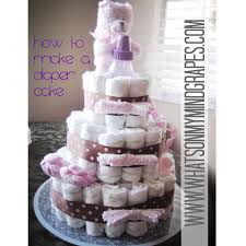 how to make a diaper cake what u0027s on my mind grapes