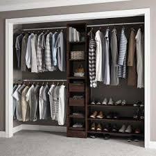 melamine wood closet organizers closet storage u0026 organization