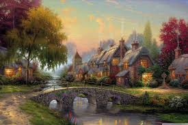 online get cheap thomas kinkade posters aliexpress com alibaba