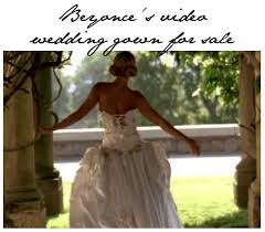 beyonce u0027s size 4 wedding dress is for sale online with a 55 000