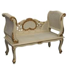 Antique French Settee Gold And Cream French Style Sofa