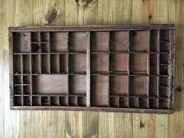 farmhouse advent calendar refresh restyle tray vintage printers antique wooden make this easy printer advent calendar