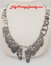 jewelry charm necklace images Vintage costume signed necklaces t z 39 s JPG