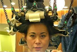 sissy boys hair dryers getting a digital perm in korea beautiful hairdressing