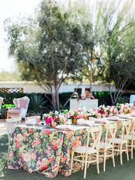 wedding linen wedding table with floral linen elizabeth designs the