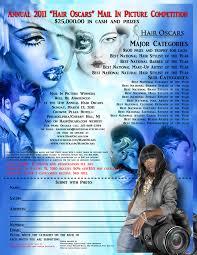 hairshow magazine 2011 hair oscars hair show flyer