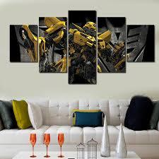 aliexpress com buy new 5 pieces sets canvas art 5 panels