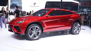lamborghini urus lamborghini urus concept previews italy u0027s most athletic suv autoweek