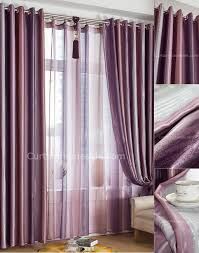 Lavender Blackout Curtains by Purple Blackout Curtains With Strips For Romantic Feelings