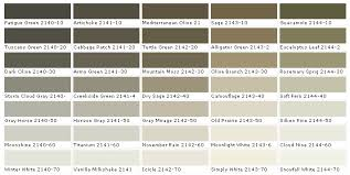 in the examples above of benjamin moore paint colors i might