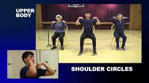 Exercise Chair As Seen On Tv Full Body Flexibility Exercises For Seniors Youtube