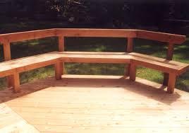 Deck Bench Bracket Benches For Decks Militariart Com