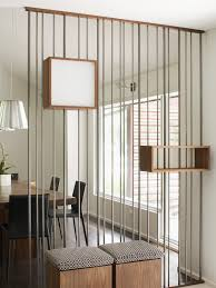 decorating exciting tension rod room divider with white curtain