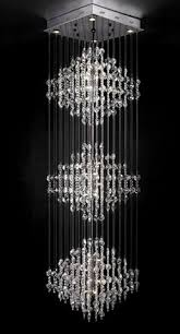 Pictures Of Chandeliers Byb Modern Chandelier Rain Drop Lighting Square Three Tiers