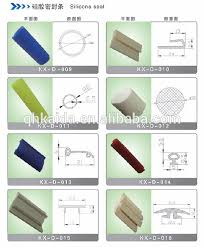 silicone white and translucent rubber door seal strip buy rubber