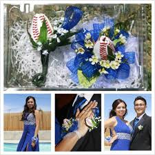 Corsage And Boutonniere For Prom User Gallery Sports Roses Your Passion For Sports U2026expressed