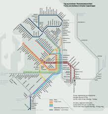 Los Angeles Train Map by Copenhagen Maps Denmark Maps Of Copenhagen
