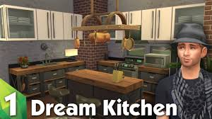 the sims 4 room design dream kitchen youtube
