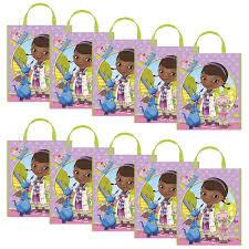 doc mcstuffins party doc mcstuffins party tote bag set of 10 toys