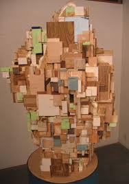 scrap wood sculpture charles goldman scrapwood sculpture gallons