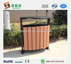 wood plastic composite trash can wood plastic composite trash can