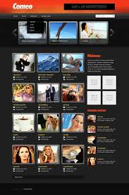 templates for video website video gallery website template 27659