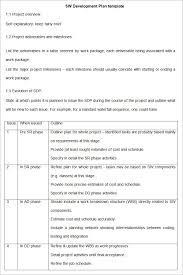 software development plan template free u0026 premium templates