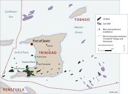 Trinidad And Tobago Map Caribbean Atlas