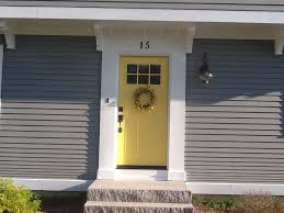 yellow front door yellow and gray design with paint benjamin moore yellow yellow