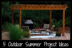 Backyard Ideas For Summer Outdoor Project Ideas For Summer Digin