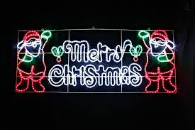 merry led lights large outdoor sign car tierra este
