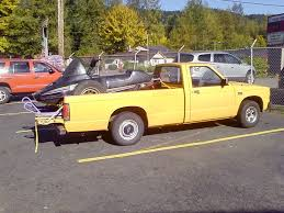 homemade pickup truck putting a sled in the bed of a pickup snowmobile world your 1