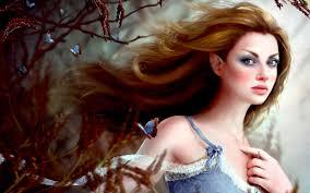 beautiful female elf wallpaper