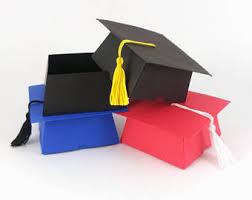 graduation box graduation box etsy