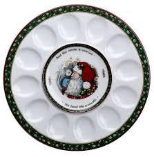 christmas deviled egg plate christmas deviled egg plates house of rumpley