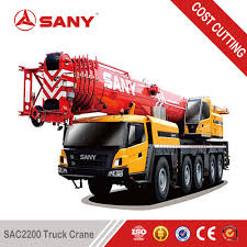 sany sac2200c 220 tons high efficient mobile crane 250 ton of