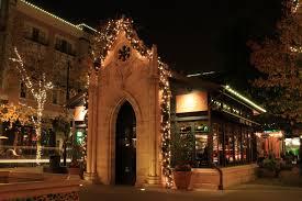 san jose christmas lights santana row with christmas lights san jose california mapio net