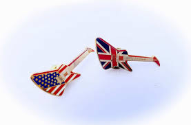 Pin Flags Gibson Explorer Guitar Pin Badge Union Jack U0026 American Flag
