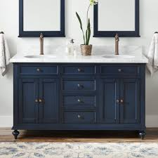 what color hardware for navy cabinets 60 keller vanity for undermount sinks vintage navy