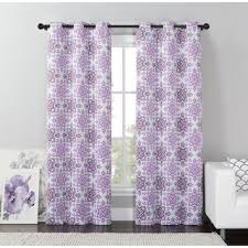 Lavender Blackout Curtains Aurora Home Grommet Top Thermal Insulated Blackout Curtain Panel