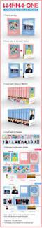 Flip Photo Album Wanna One 1x1 U003d1 To Be One 1st Mini Album Pink Ver Cd Flip