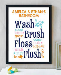Hypolita Love Anchors The Soul - bathroom collage print a great print for any little one s bathroom